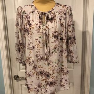 Rose & Olive Blouse in Women's size 1X NWT